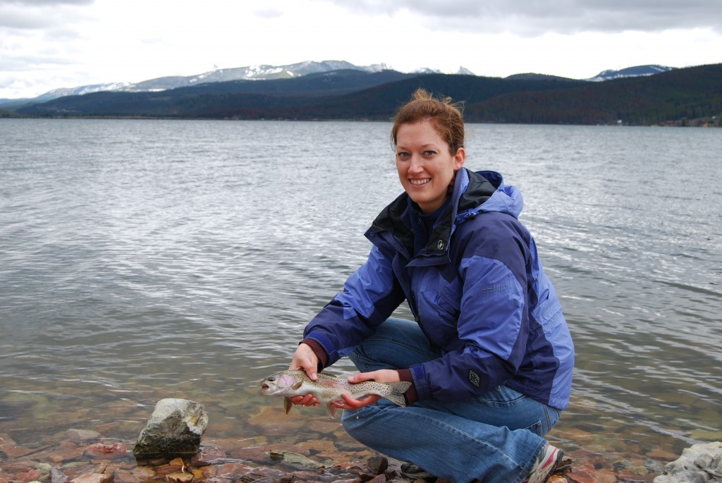 Fly fishing in montana for Lake georgetown fishing
