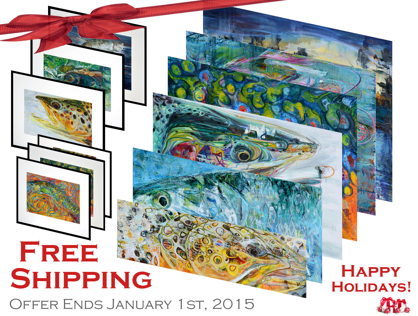 HAPPY HOLIDAYS - FREE SHIPPING!